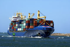 Dans le port Image libre de droits