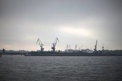Dans le port Photos libres de droits