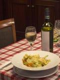 Dans le restaurant Image stock