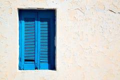 dans le santorini l'Europe Grèce vieille et le mur Photo stock