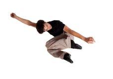 Dans le saut 13 de mouvement Images stock