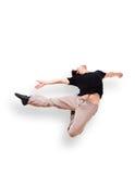 Dans le saut 7 de mouvement Photo stock
