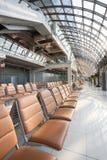 Dans le terminal de l'aéroport de Suvarnabhumi, le plus grand aéroport dedans Images libres de droits