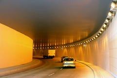 Dans le tunnel Photos libres de droits