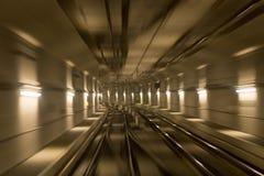Dans le tunnel Photographie stock libre de droits