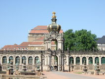 Dans le Zwinger, Dresde Photo stock