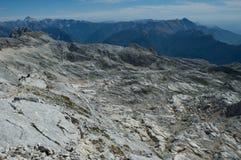 Dans les Alpes de la Slovénie Photo stock