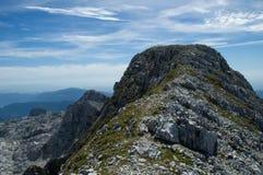 Dans les Alpes de la Slovénie Image libre de droits