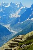 Dans les Alpes français Images stock