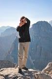 Dans les Alpes juliens Photo libre de droits