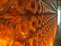 Dans les flancs il y a un cognac Images libres de droits