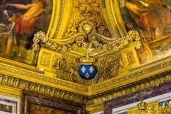 Dans les halls du Palas de Versaiiles Photos stock