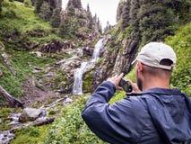 Dans les montagnes Photographie stock