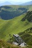 Dans les montagnes Image libre de droits