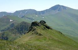 Dans les montagnes Images stock
