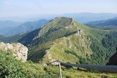 Dans les montagnes en été Image libre de droits