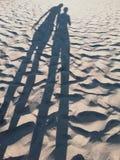 Dans les ombres Photos stock