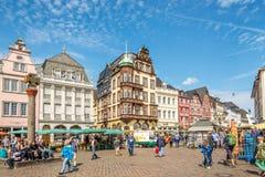 Dans les rues du Trier Photographie stock libre de droits