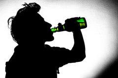 Dans meer, drink langzaam royalty-vrije stock foto