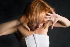 Dans met hartstocht Stock Foto