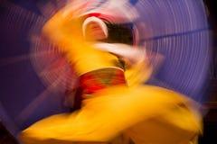 Dans met kleuren Stock Foto's