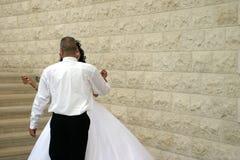 Dans met me aan het eind van liefde? stock foto