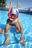 Dans pool5 Photos stock