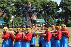 Dans Raden Mas Said Royaltyfri Fotografi