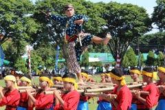 Dans Raden Mas Said Arkivfoto