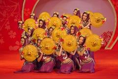 Dans: rikt och färgrikt royaltyfri bild