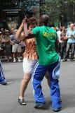 Dans samen Royalty-vrije Stock Fotografie