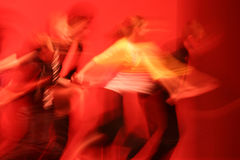 Dans samen nu Royalty-vrije Stock Fotografie