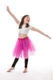 dans som är klar till Arkivfoton