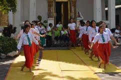 Dans Thailand Arkivbild