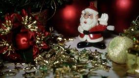 Dans Toy Santa Claus arkivfilmer