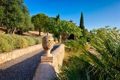 Dans un jardin espagnol Photo libre de droits