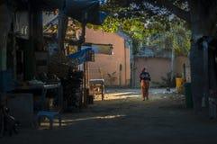 Dans un petit village Photographie stock libre de droits