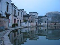Dans un village chinois images libres de droits