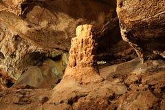 Dans une caverne Photos libres de droits