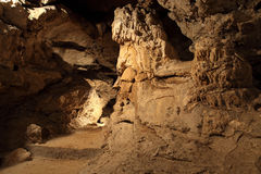 Dans une caverne Image stock