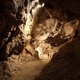 Dans une caverne Image libre de droits