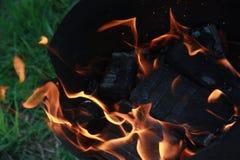 Dans van brand stock afbeeldingen