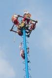 Dans van de Vliegers in Mexico-City Royalty-vrije Stock Afbeeldingen