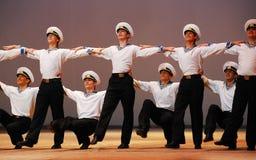 Dans van overzees-mensen Royalty-vrije Stock Afbeeldingen