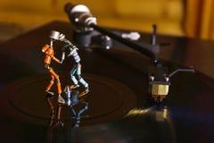 Dans van uitstekende elektronika royalty-vrije stock foto