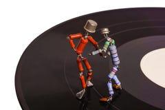 Dans van uitstekende elektronika stock foto