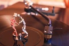 Dans van uitstekende elektronika royalty-vrije stock afbeelding