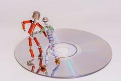 Dans van uitstekende elektronika royalty-vrije stock fotografie