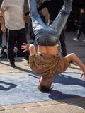Dansa avbrottsdans i bolognaen, Italien arkivfoton