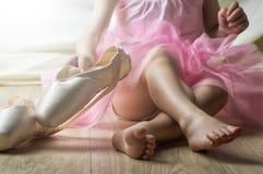 Dansa behagfullt Royaltyfri Fotografi